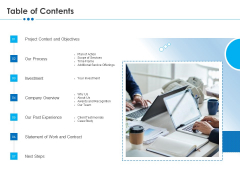 RFP Software Maintenance Support Table Of Contents Microsoft PDF