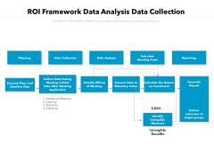 ROI Framework Data Analysis Data Collection Ppt PowerPoint Presentation Gallery Template PDF