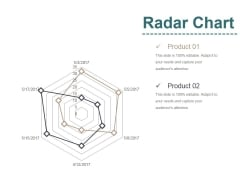 Radar Chart Ppt PowerPoint Presentation Infographic Template Mockup