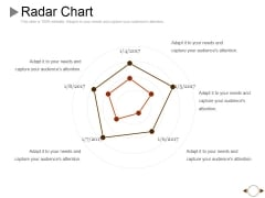 Radar Chart Ppt PowerPoint Presentation Professional Example