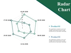 Radar Chart Ppt PowerPoint Presentation Show Guidelines