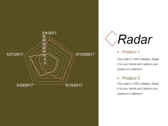 Radar Ppt PowerPoint Presentation Infographics