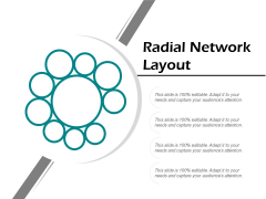 Radial Network Layout Ppt PowerPoint Presentation Model Clipart Images