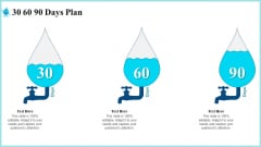 Rainwater Administration 30 60 90 Days Plan Information PDF