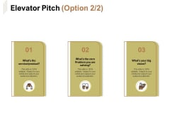 Raise Capital For Business Elevator Pitch Ppt Slides Layout Ideas PDF