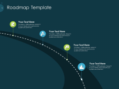 Raise Funding From Pre Seed Capital Roadmap Template Portrait PDF