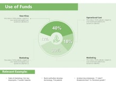 Raising Funds Company Use Of Funds Ppt Infographics Professional PDF