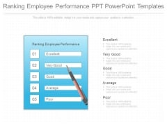 Ranking Employee Performance Ppt Powerpoint Templates