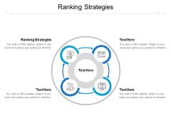 Ranking Strategies Ppt PowerPoint Presentation Styles Designs Download Cpb