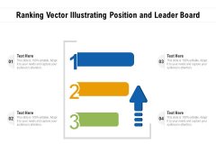 Ranking Vector Illustrating Position And Leader Board Ppt PowerPoint Presentation File Graphics PDF