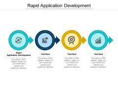 Rapid Application Development Ppt PowerPoint Presentation Portfolio Backgrounds Cpb Pdf