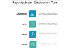 Rapid Application Development Tools Ppt PowerPoint Presentation Professional Slide Download Cpb Pdf