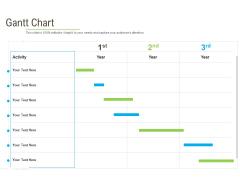 Rapid Innovation In HR Technology Space Gantt Chart Graphics PDF