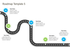 Rapid Innovation In HR Technology Space Roadmap Template 5 Ppt Pictures Model PDF