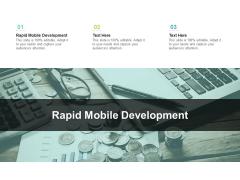 Rapid Mobile Development Ppt PowerPoint Presentation Portfolio Outline Cpb Pdf