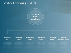 Ratio Analysis Solvency Ratios Ppt Powerpoint Presentation Professional Rules