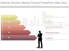 Rational Decision Making Process Powerpoint Slide Deck