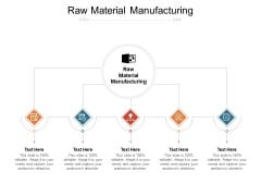 Raw Material Manufacturing Ppt PowerPoint Presentation Gallery Show Cpb Pdf