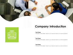 Reach Your Target Audience Company Introduction Ppt File Clipart Images PDF