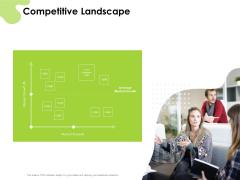 Reach Your Target Audience Competitive Landscape Ppt Infographics Slide PDF
