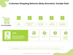 Reach Your Target Audience Customers Shopping Behavior Baby Boomers Sample Data Inspiration PDF