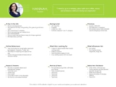Reach Your Target Audience Hannah Student Ppt Show Examples PDF