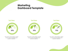 Reach Your Target Audience Marketing Dashboard Ppt Pictures Show PDF