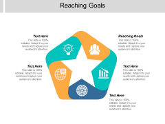 Reaching Goals Ppt PowerPoint Presentation Inspiration Styles Cpb