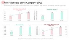 Real Capital Market Bid Assessment Key Financials Of The Company Revenue Designs PDF