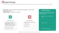Real Capital Market Bid Assessment Project Scope Elements PDF