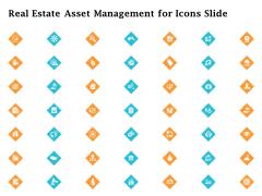 Real Estate Asset Management For Icons Slide Ppt Pictures Influencers PDF