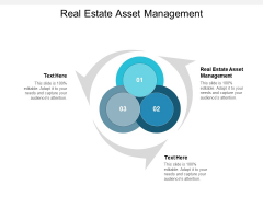 Real Estate Asset Management Ppt PowerPoint Presentation Inspiration Icons Cpb