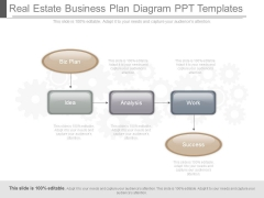Real Estate Business Plan Diagram Ppt Templates