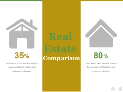 Real Estate Comparison Ppt PowerPoint Presentation Pictures Icon