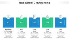Real Estate Crowdfunding Ppt PowerPoint Presentation Portfolio Example Cpb Pdf