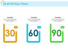 Real Estate Development 30 60 90 Days Plane Ppt PowerPoint Presentation Layouts Graphics PDF