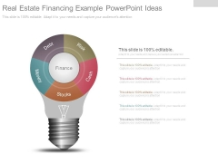 Real Estate Financing Example Powerpoint Ideas