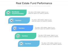 Real Estate Fund Performance Ppt PowerPoint Presentation Infographics Graphics Example Cpb