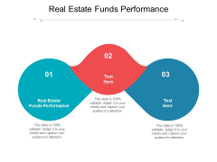 Real Estate Funds Performance Ppt PowerPoint Presentation Icon Graphics Pictures Cpb Pdf