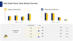 Real Estate Home Sales Market Overview Ppt Infographics Ideas PDF