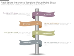 Real Estate Insurance Template Powerpoint Show