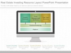 Real Estate Investing Resource Layout Powerpoint Presentation