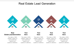 Real Estate Lead Generation Ppt PowerPoint Presentation File Show Cpb