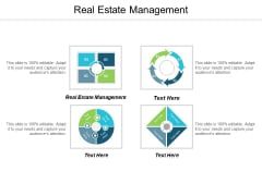 Real Estate Management Ppt PowerPoint Presentation Gallery Background Images Cpb