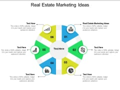 Real Estate Marketing Ideas Ppt PowerPoint Presentation Infographics Example Cpb