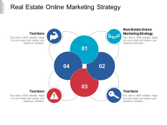 Real Estate Online Marketing Strategy Ppt PowerPoint Presentation Ideas Model Cpb