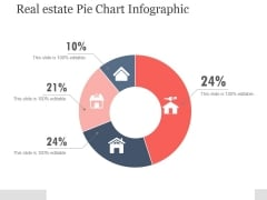 Real Estate Pie Chart Infographic Ppt PowerPoint Presentation Portfolio
