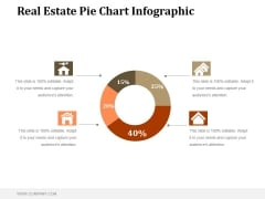 Real Estate Pie Chart Infographic Ppt PowerPoint Presentation Shapes