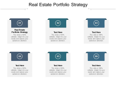 Real Estate Portfolio Strategy Ppt PowerPoint Presentation Show Elements Cpb Pdf
