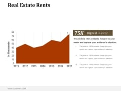Real Estate Rents Ppt PowerPoint Presentation Tips